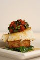 Oven-roasted Chilean Sea Bass with Roasted Cherry Tomato and Basil Confit - Personal Thyme